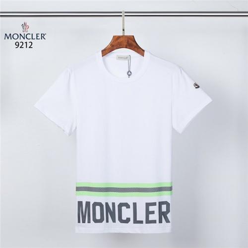 Moncler T-Shirts Short Sleeved For Men #832190