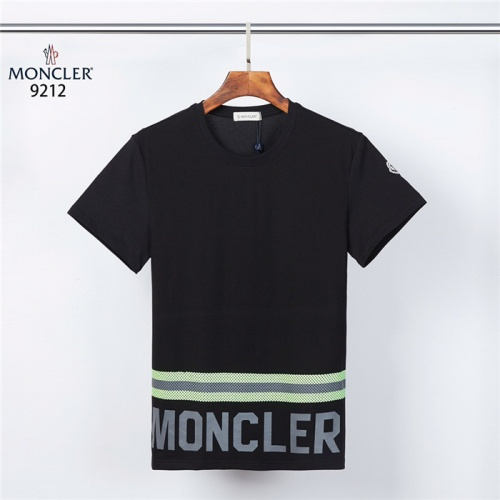 Moncler T-Shirts Short Sleeved For Men #832191