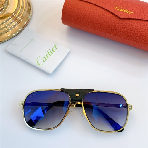 Cartier AAA Quality Sunglasses #832239