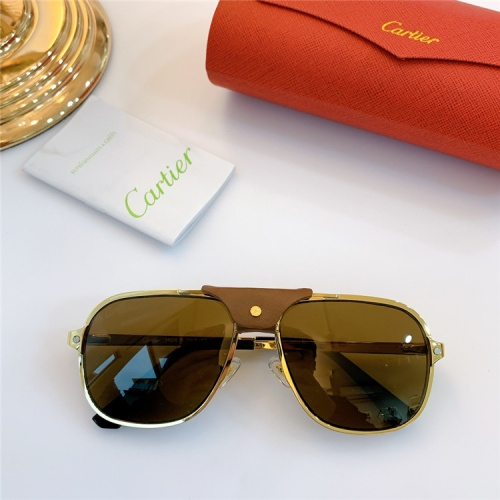 Cartier AAA Quality Sunglasses #832240