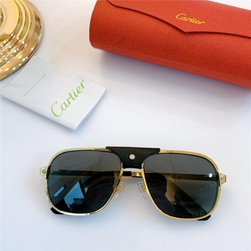 Cartier AAA Quality Sunglasses #832241
