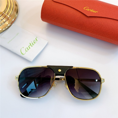 Cartier AAA Quality Sunglasses #832242