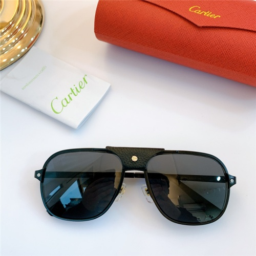 Cartier AAA Quality Sunglasses #832243