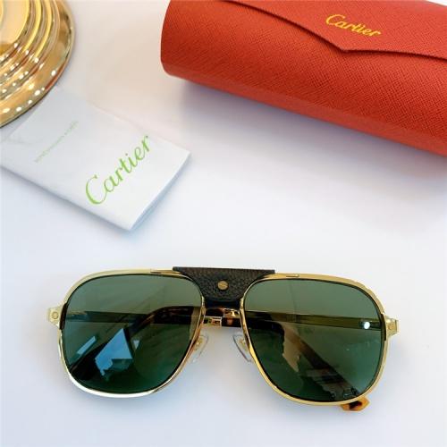Cartier AAA Quality Sunglasses #832244