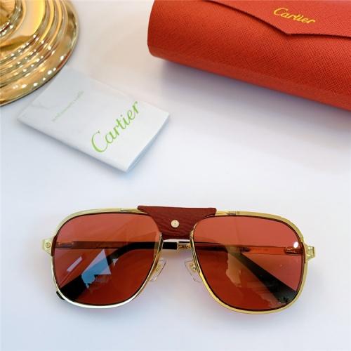 Cartier AAA Quality Sunglasses #832245