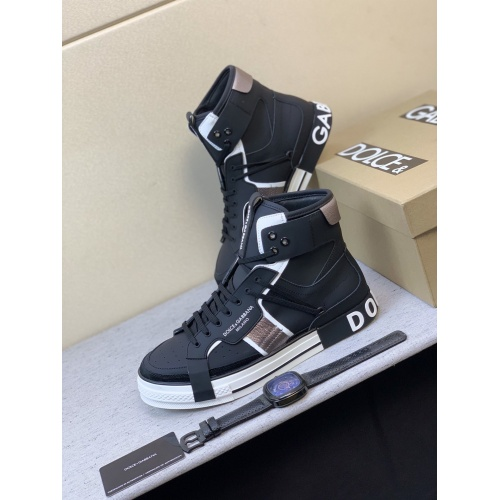 Dolce & Gabbana D&G High Top Shoes For Men #832322
