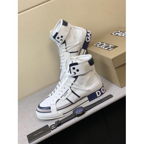 Dolce & Gabbana D&G High Top Shoes For Men #832323