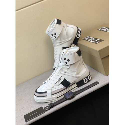 Dolce & Gabbana D&G High Top Shoes For Men #832324