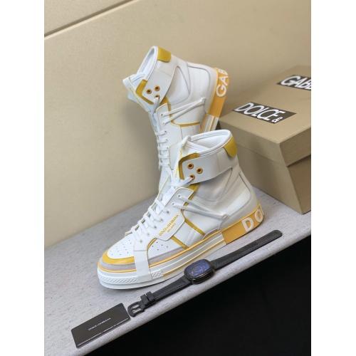 Dolce & Gabbana D&G High Top Shoes For Men #832325