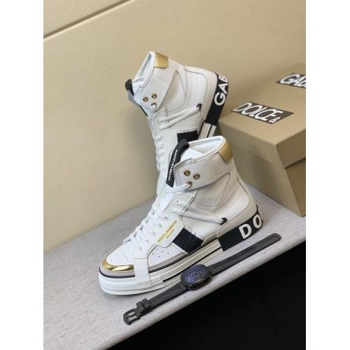 Dolce & Gabbana D&G High Top Shoes For Men #832326