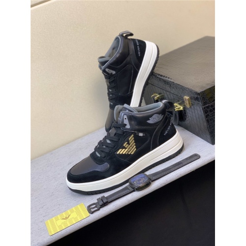 Armani High Tops Shoes For Men #832340