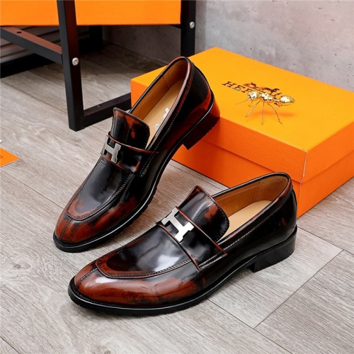 Hermes Leather Shoes For Men #832386