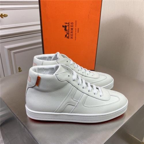 Hermes High Tops Shoes For Men #832393