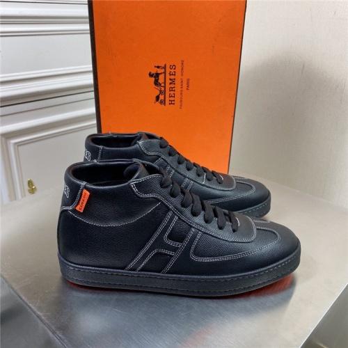 Hermes High Tops Shoes For Men #832394
