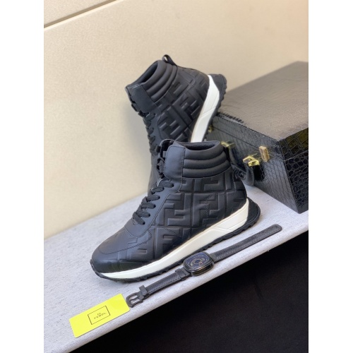 Fendi High Tops Casual Shoes For Men #832407
