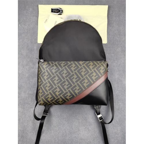 Fendi AAA Quality Backpacks For Unisex #832412