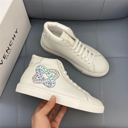Givenchy High Tops Shoes For Women #832442 $80.00, Wholesale Replica Givenchy High Tops Shoes