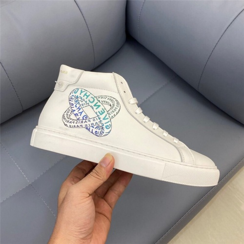 Replica Givenchy High Tops Shoes For Women #832442 $80.00 USD for Wholesale