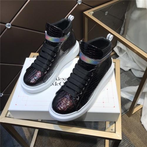 Alexander McQueen High Tops Shoes For Women #832446
