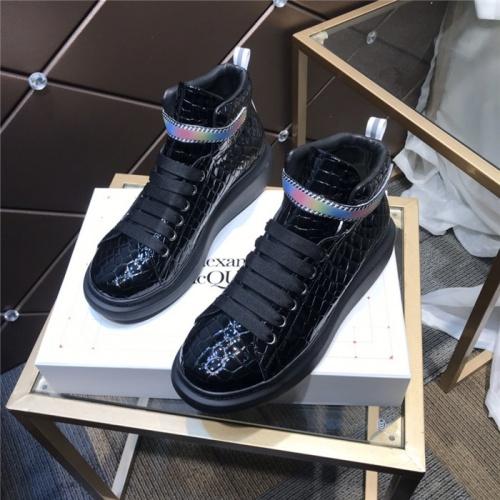 Alexander McQueen High Tops Shoes For Men #832472