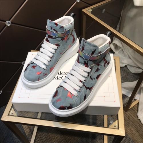 Alexander McQueen High Tops Shoes For Men #832476