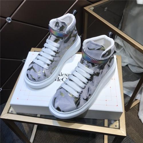 Alexander McQueen High Tops Shoes For Men #832477