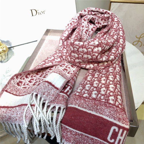 Replica Christian Dior Quality A Scarves For Women #832559 $54.00 USD for Wholesale