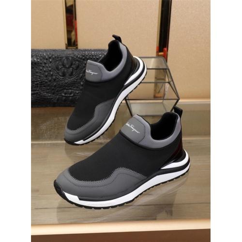 Ferragamo Salvatore FS Casual Shoes For Men #832567