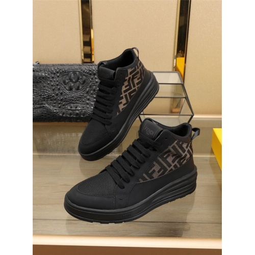 Fendi High Tops Casual Shoes For Men #832570
