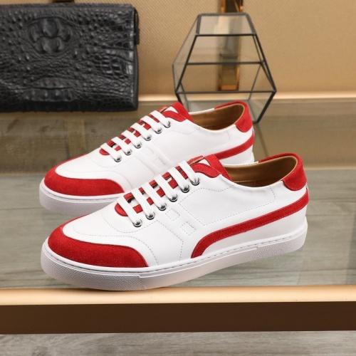 Replica Hermes Casual Shoes For Men #832576 $80.00 USD for Wholesale