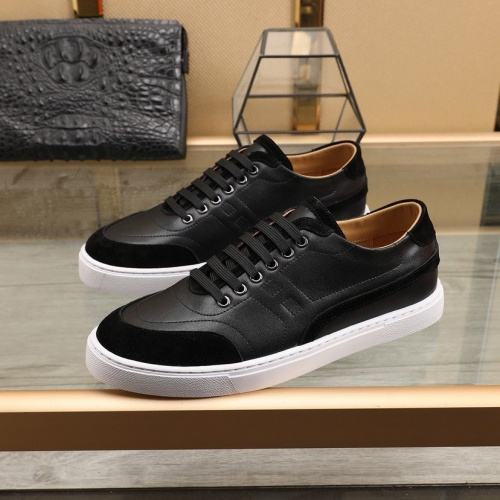 Replica Hermes Casual Shoes For Men #832578 $80.00 USD for Wholesale