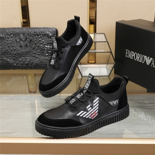 Armani Casual Shoes For Men #832610