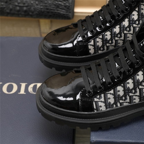 Replica Christian Dior Boots For Men #832695 $82.00 USD for Wholesale