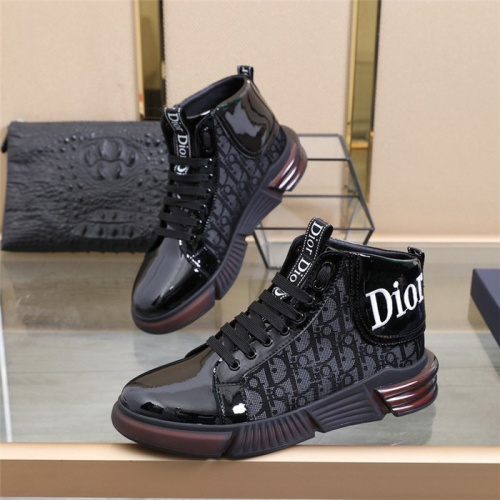 Christian Dior High Tops Shoes For Men #832704