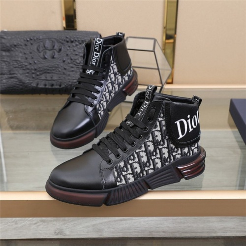 Christian Dior High Tops Shoes For Men #832706