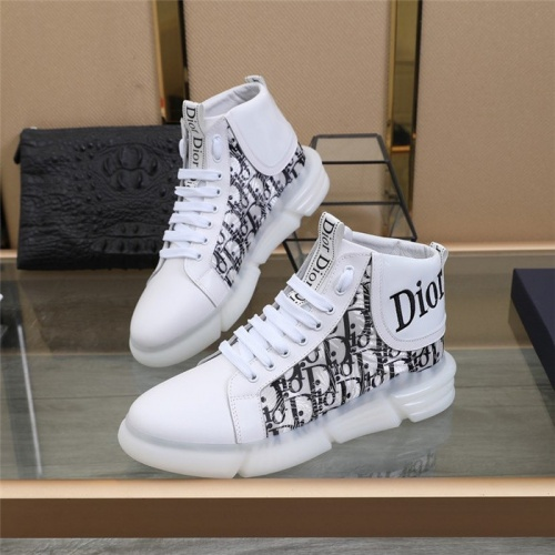 Christian Dior High Tops Shoes For Men #832707