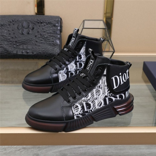 Christian Dior High Tops Shoes For Men #832708