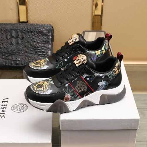 Replica Versace Casual Shoes For Men #832711 $80.00 USD for Wholesale