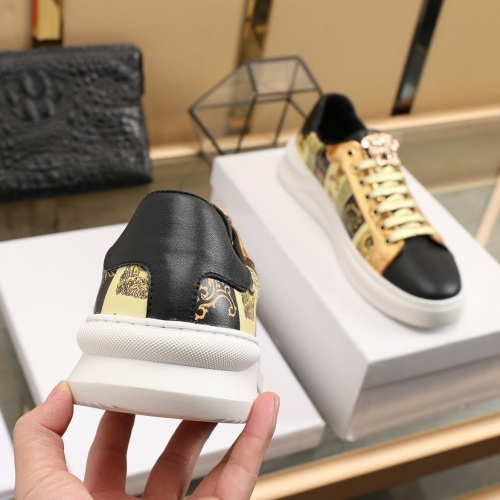 Replica Versace Casual Shoes For Men #832716 $80.00 USD for Wholesale