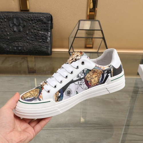 Replica Versace Casual Shoes For Men #832721 $80.00 USD for Wholesale