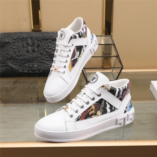Versace High Tops Shoes For Men #832736