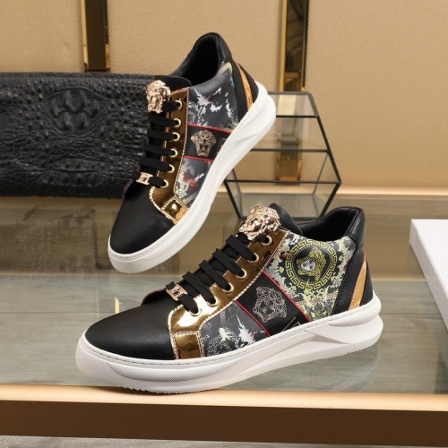 Versace High Tops Shoes For Men #832750