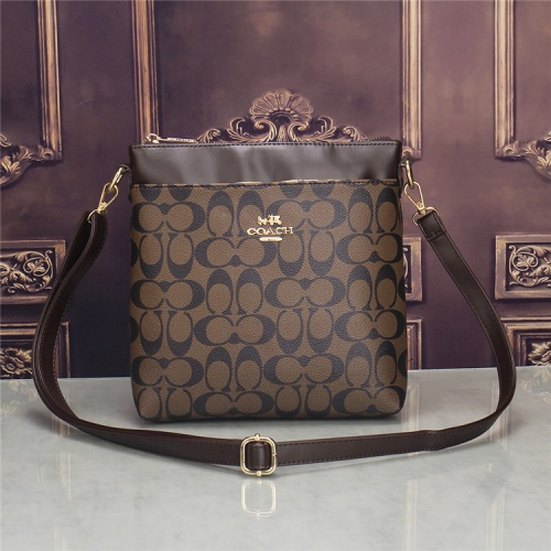 Coach Fashion Messenger Bag For Men #832804