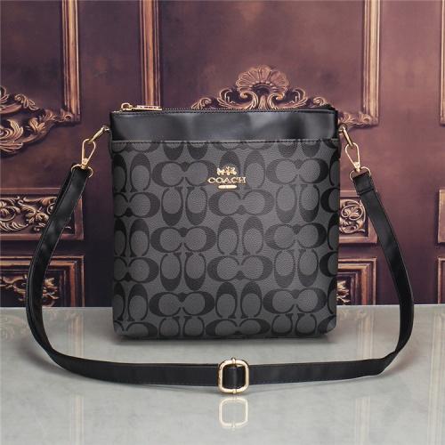 Coach Fashion Messenger Bag For Men #832805