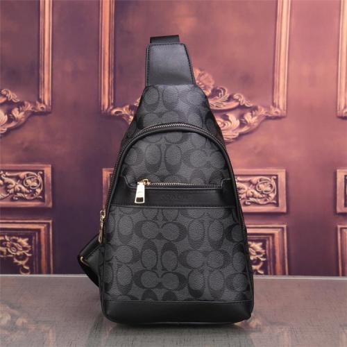 Coach Fashion Messenger Bag For Men #832810