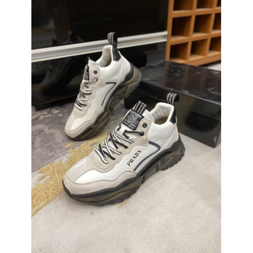 Prada Casual Shoes For Men #833006