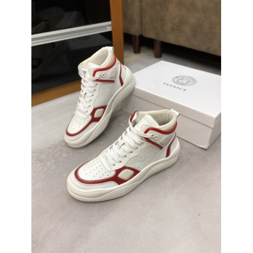 Versace High Tops Shoes For Men #833032