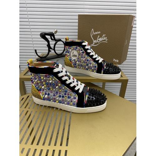 Christian Louboutin High Tops Shoes For Men #833040