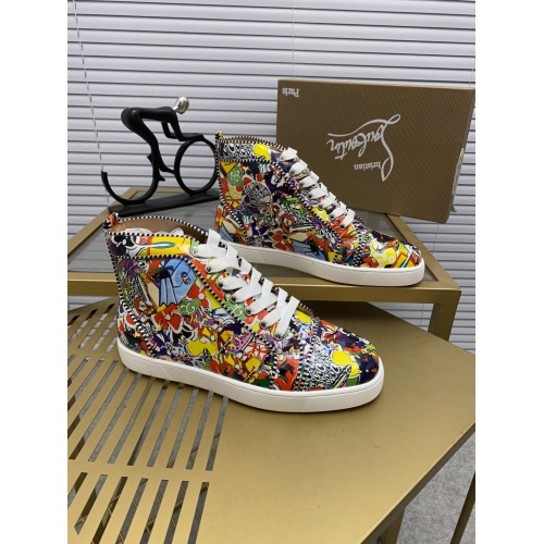Christian Louboutin High Tops Shoes For Men #833076