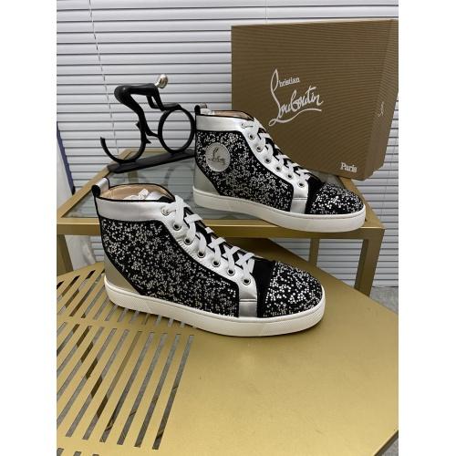 Christian Louboutin High Tops Shoes For Men #833077